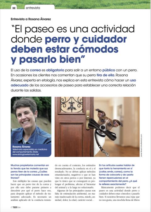 Entrevista sobre el paseo